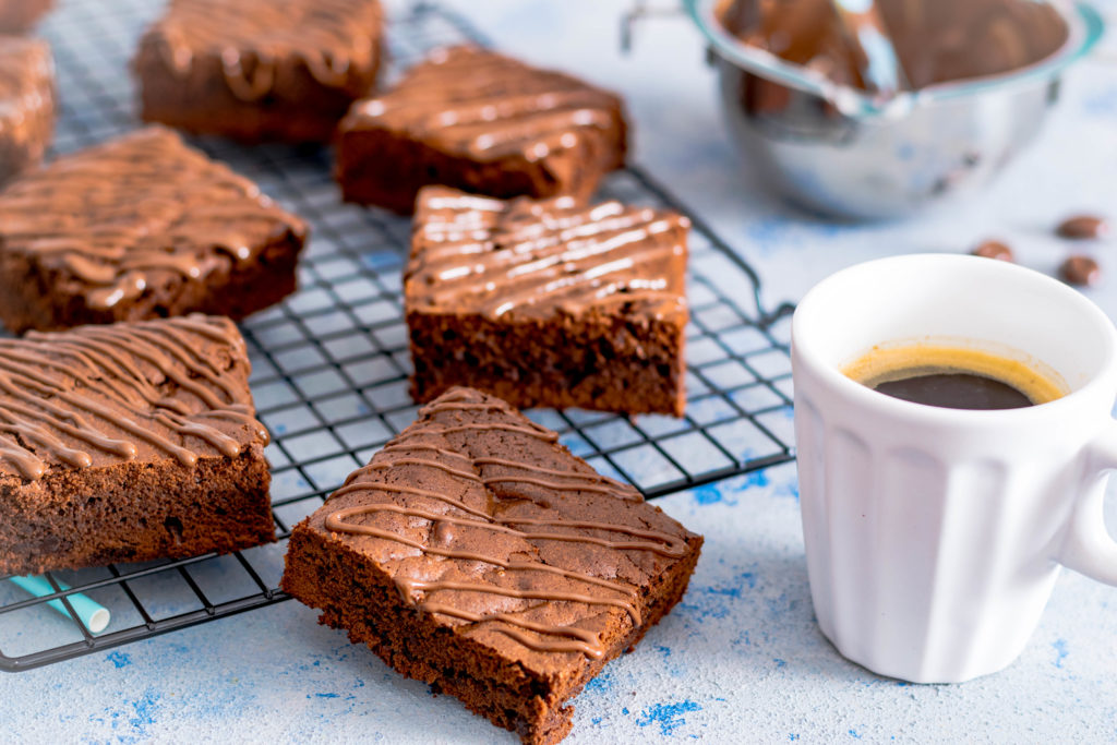 Kaffee Brownies