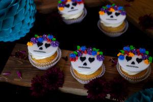 Halloween Cupcakes Dia de los Muertos