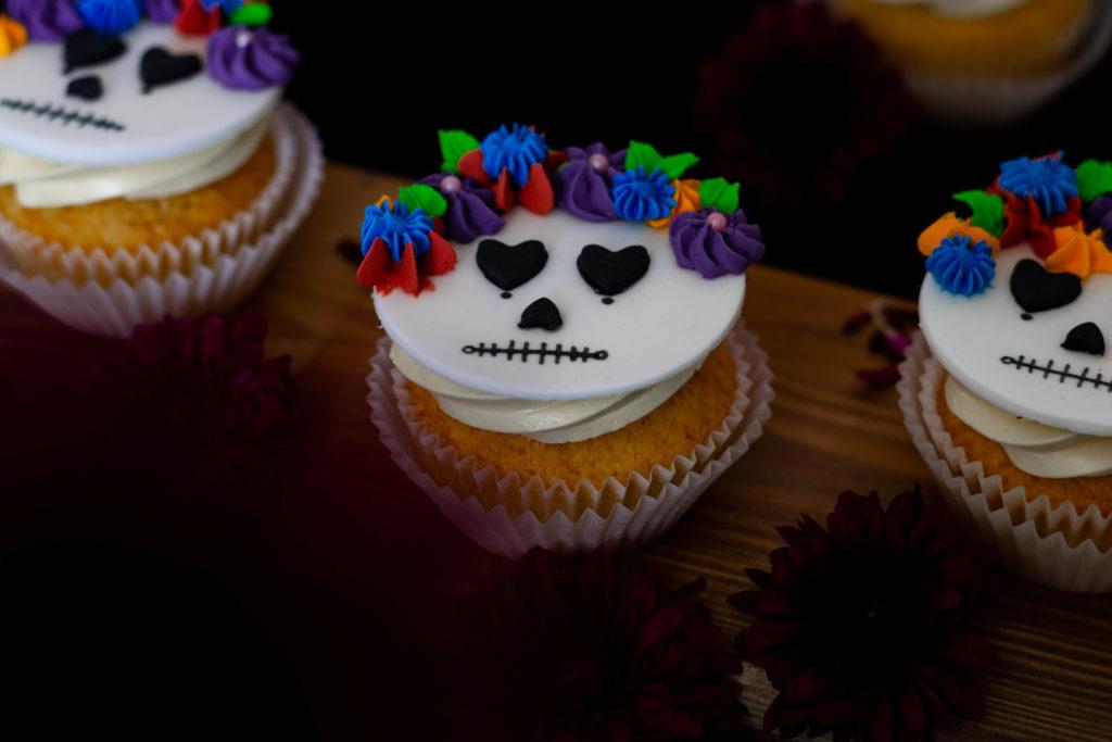Dia de los Muertos Cupcakes