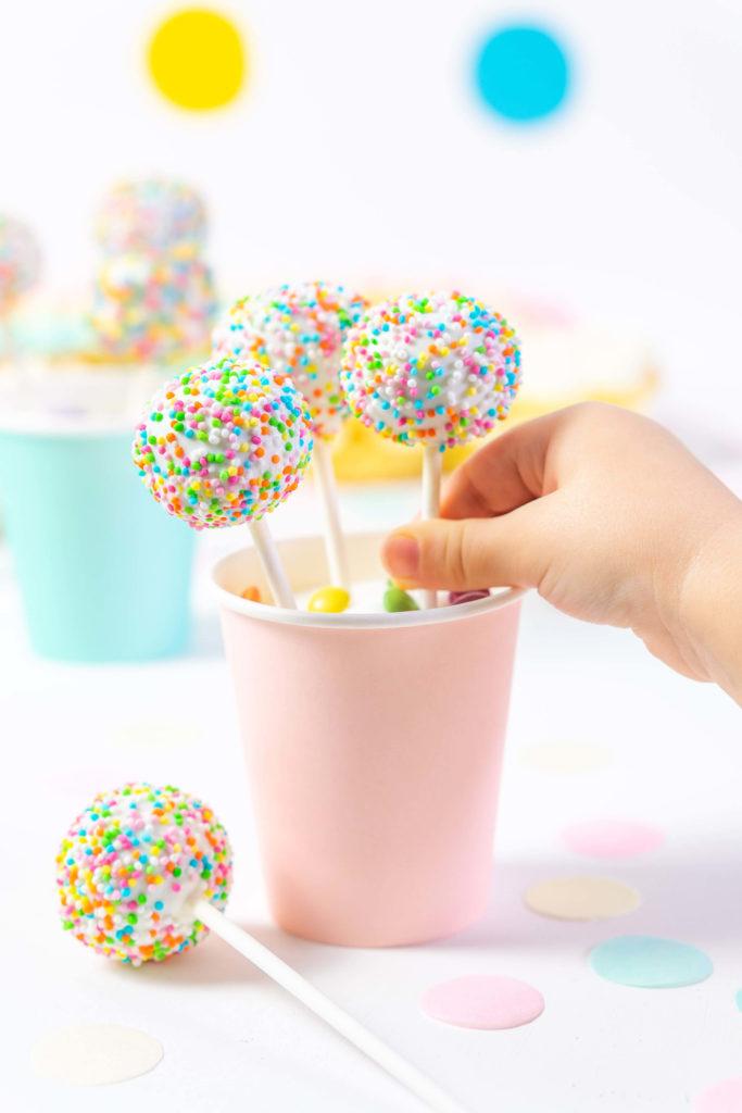 Cake Pops Kindergeburtstag